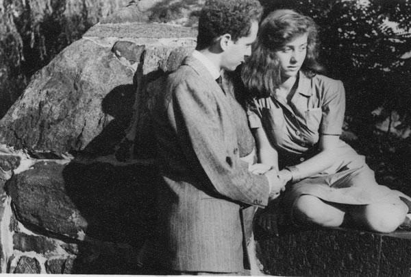 Diane and Allan Arbus