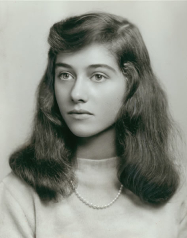 Diane Arbus graduation from Fieldston