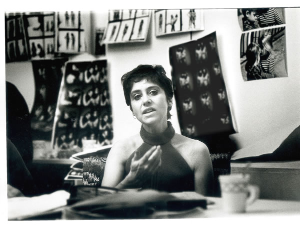 Diane Arbus at Richard Avedon workshop