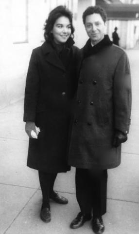 Zohra Lampert and Allan Arbus